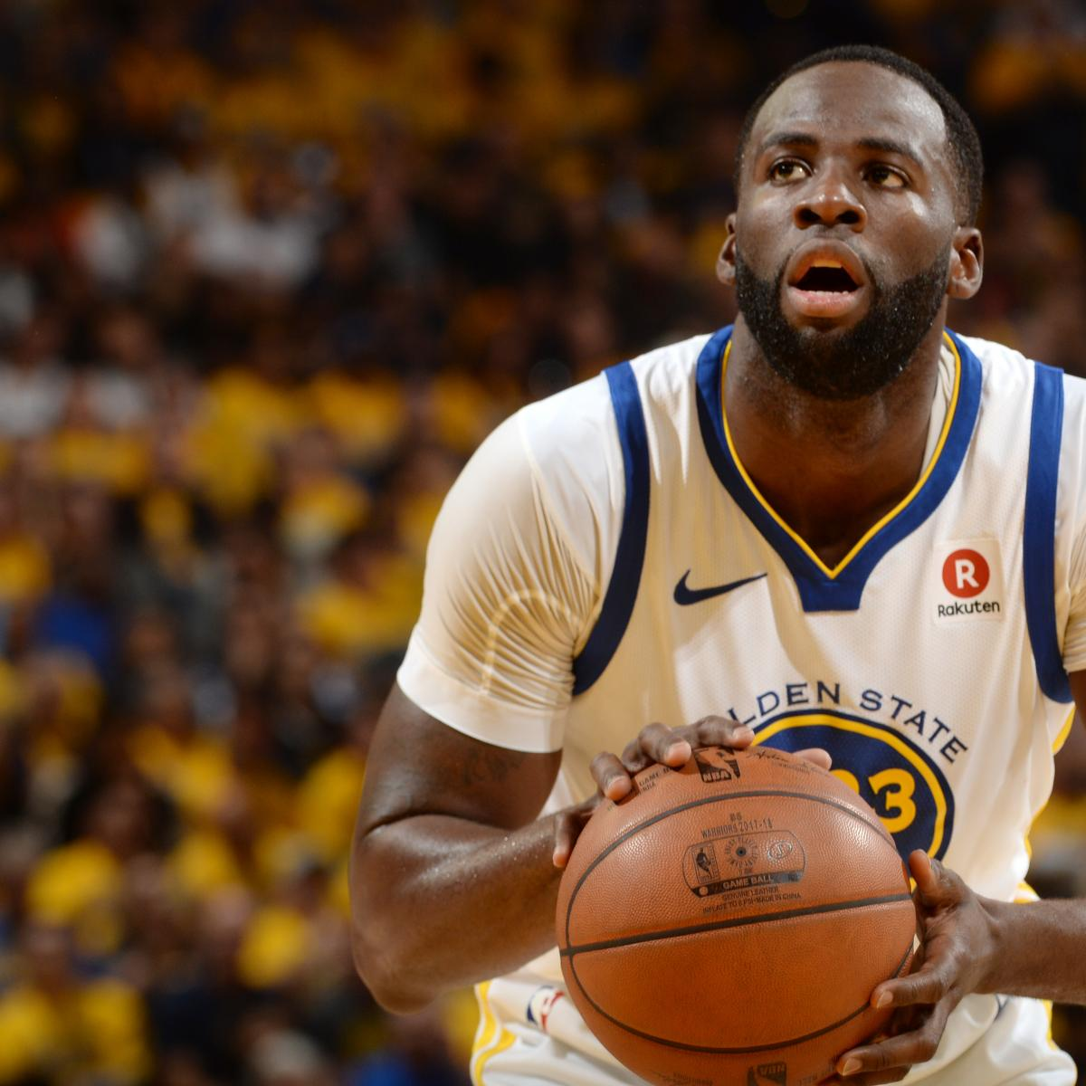 NBA Playoffs 2018: Full Round 1 Bracket Results And