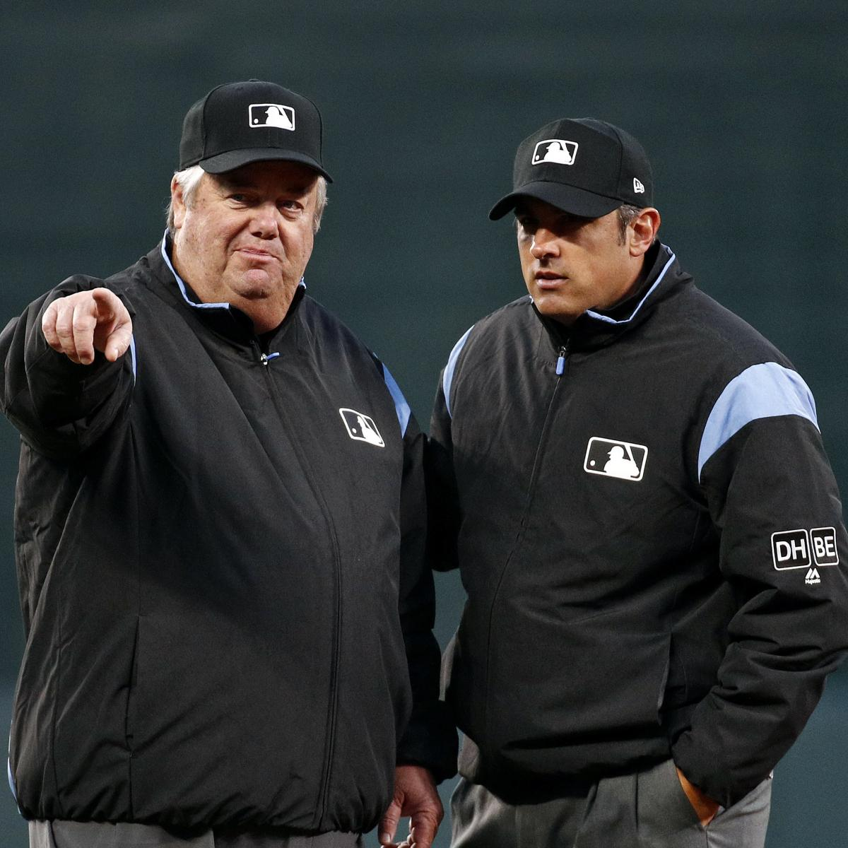 1d42f0c31ae0e2 How Much Are MLB Umpires Paid? | Bleacher Report | Latest News, Videos and  Highlights