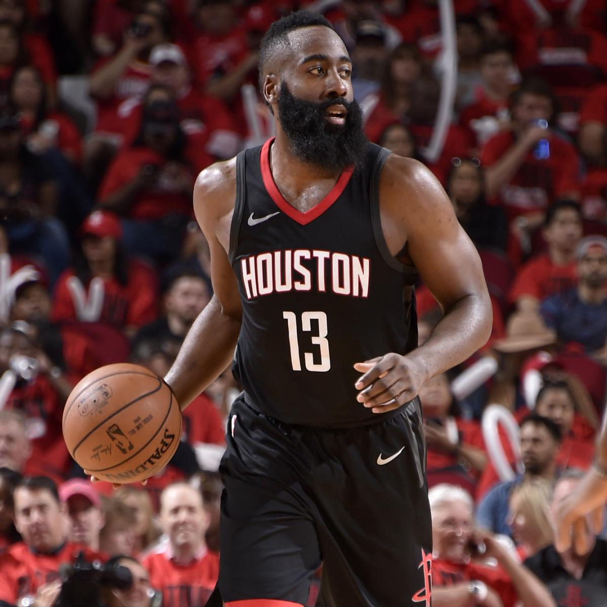 Rockets Jazz Game 1: James Harden Puts On Show Vs. Jazz: Highlights From