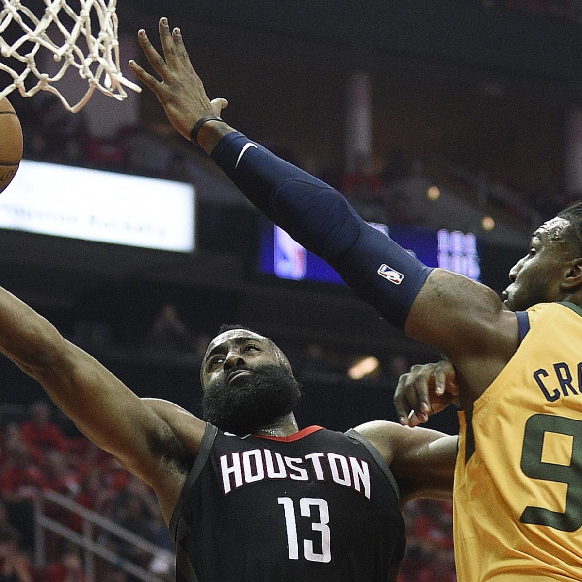 Rockets Jazz Game 1: James Harden Calls Rockets Offense 'Different' After Game