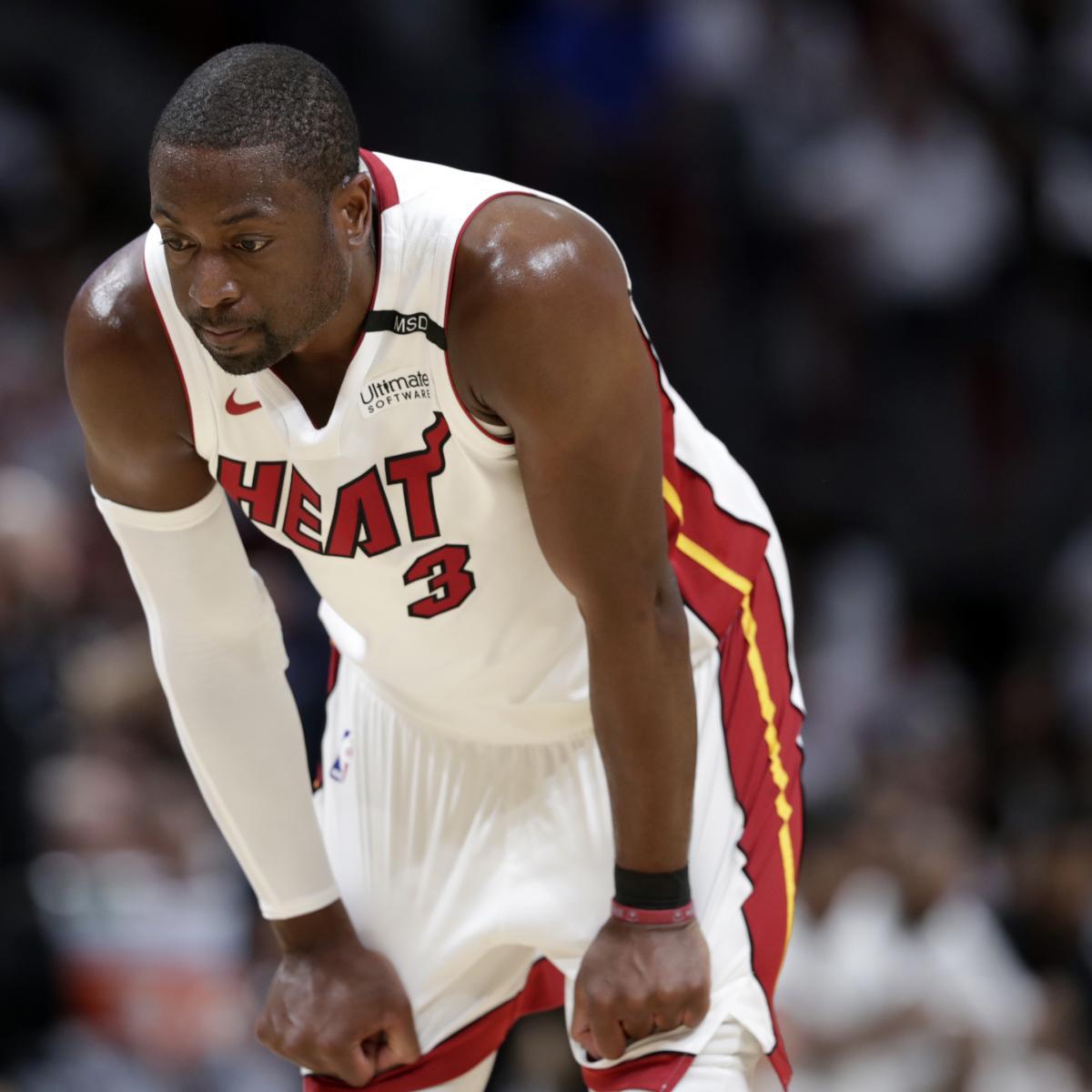 Dwyane Wade Workout: The Latest Miami Heat News (Bleacher Report)