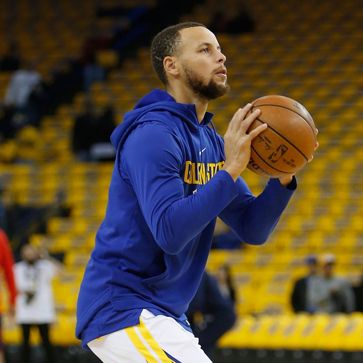 Stephen Curry 'Probable' For Warriors' Game 2 Vs. Pelicans