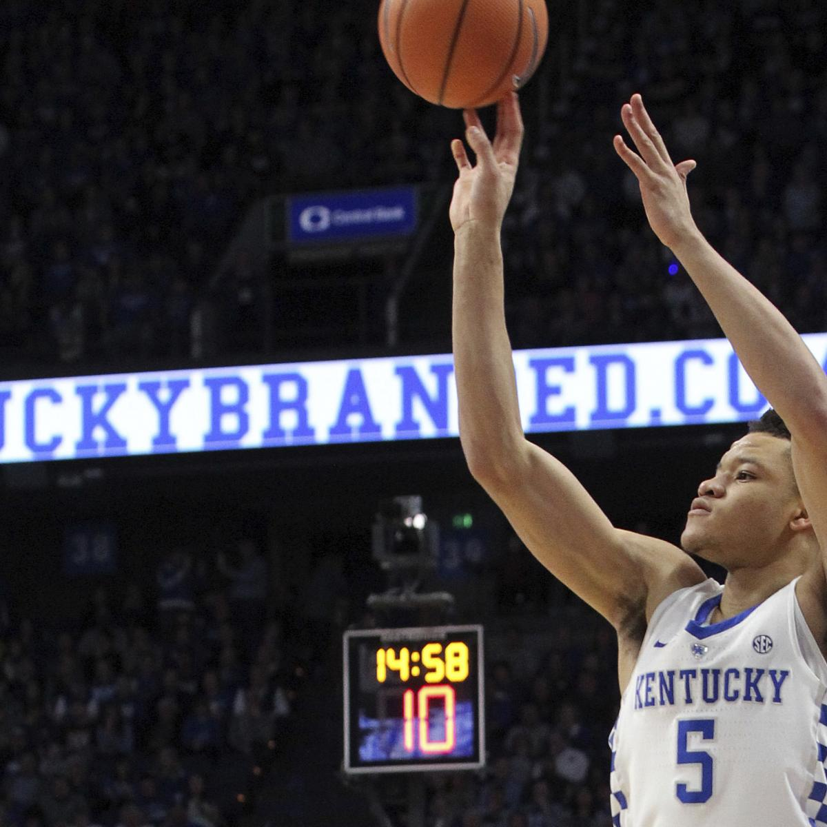 Kevin Knox Picked By Knicks In 2018 NBA Draft; Stephen A