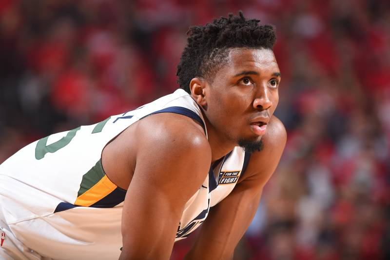 Donovan Mitchell Hypes Dunk Vs Rockets With Chappelle S