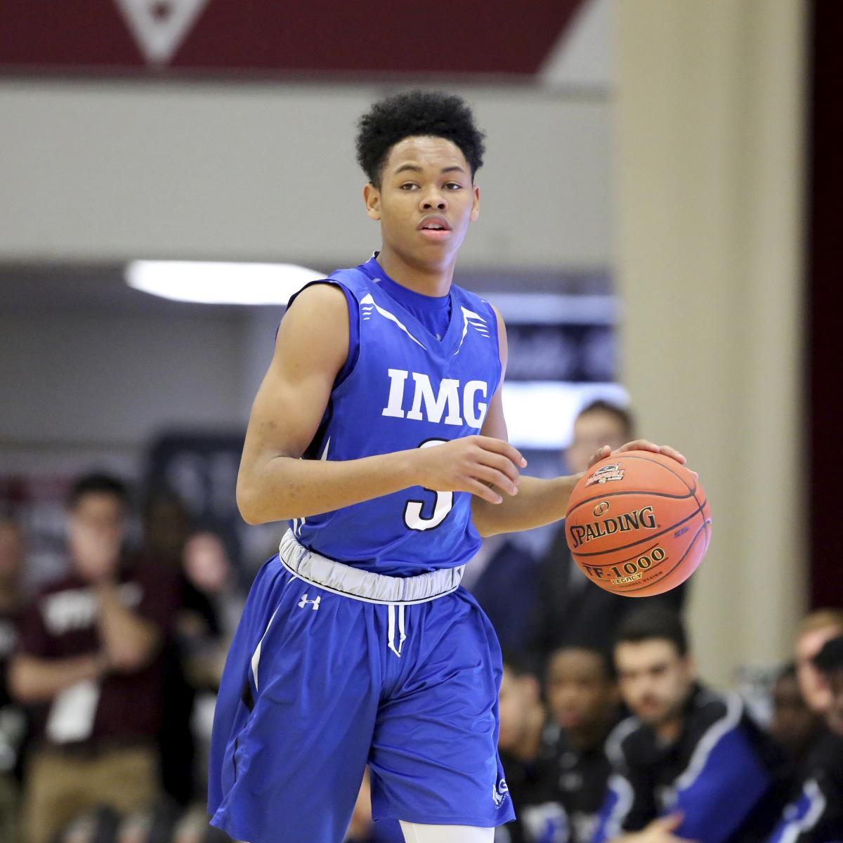 Img: Anfernee Simons Drafted By Trail Blazers; Twitter Lauds