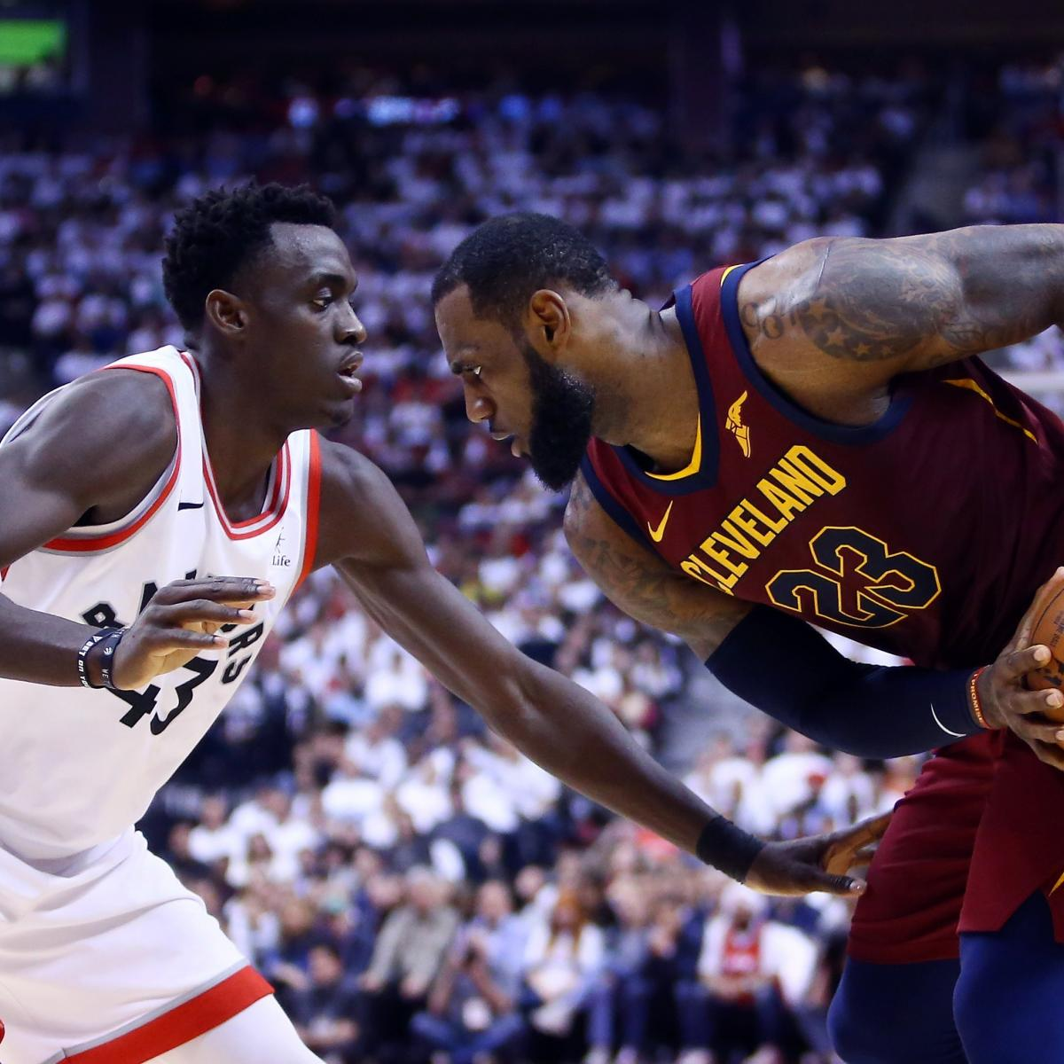 NBA Playoffs 2018: Updated Bracket Results, Odds And