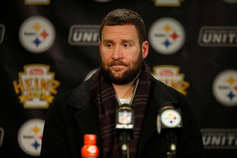 separation shoes 3e092 1eec4 Ben Roethlisberger 'Surprised' Steelers Drafted Mason ...