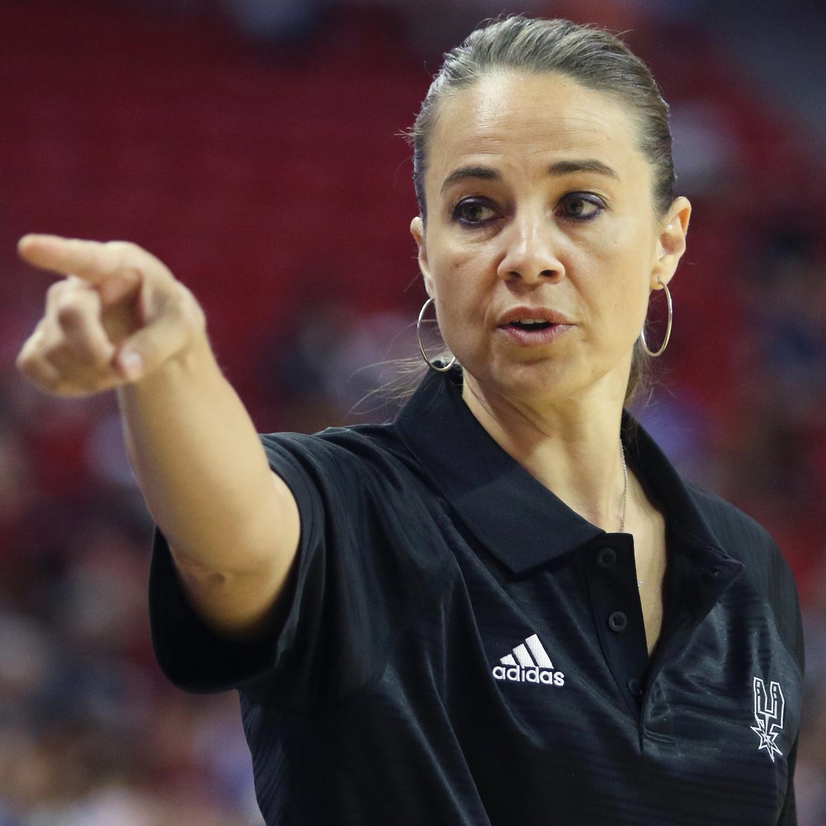 Bucks HC Rumors: Spurs' Becky Hammon, James Borrego to Interview for Open Job | Bleacher Report | Latest News, Videos and Highlights