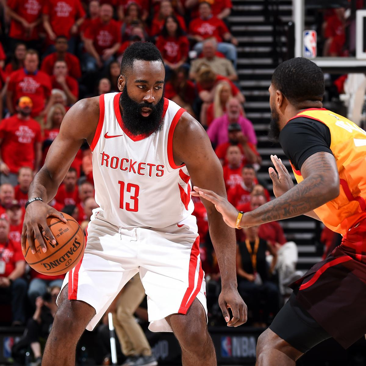 James Harden, Rockets Destroy Donovan Mitchell, Jazz To