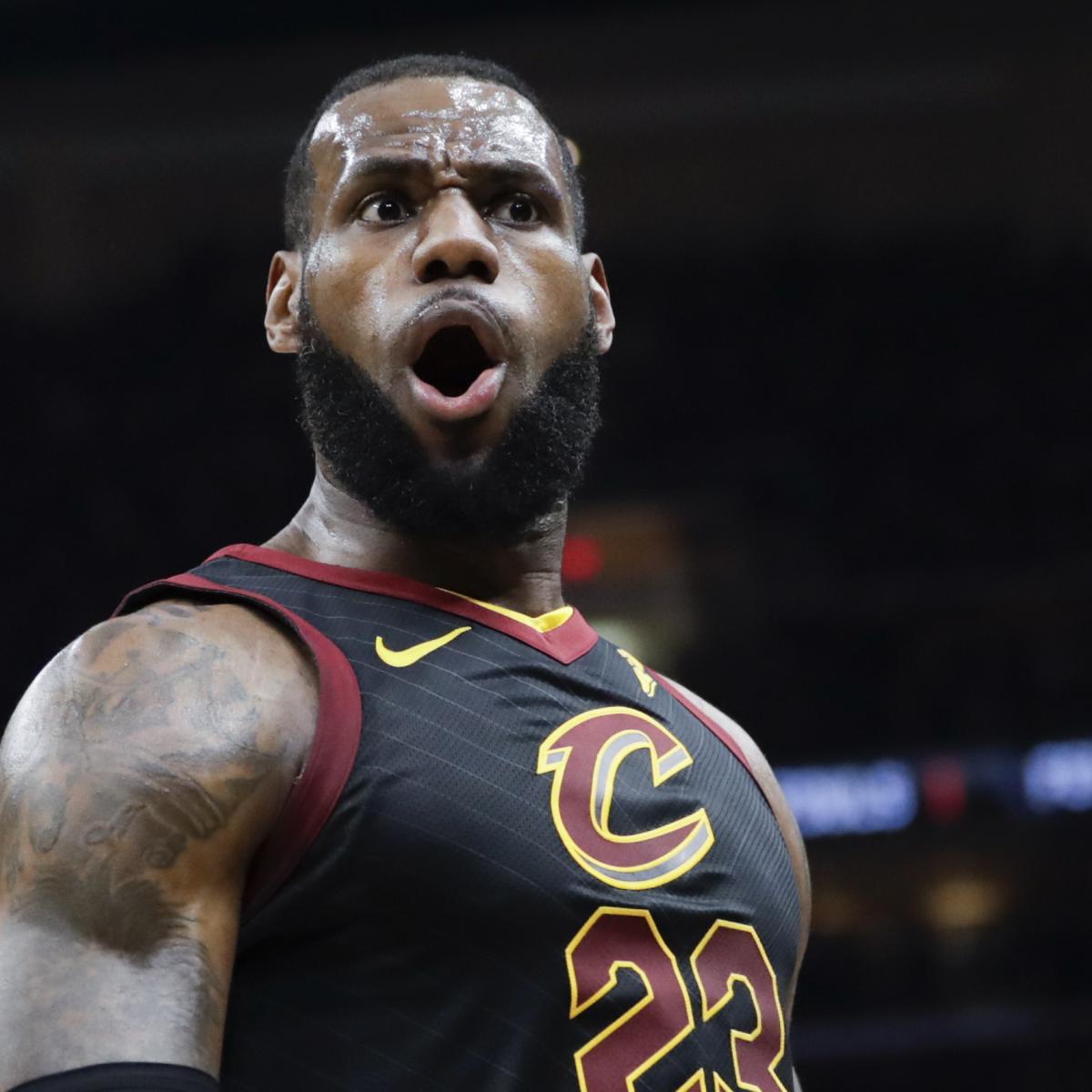 LeBron James Dominates Again as Cavaliers Win Game 3 over Raptors ... fc05c8b63