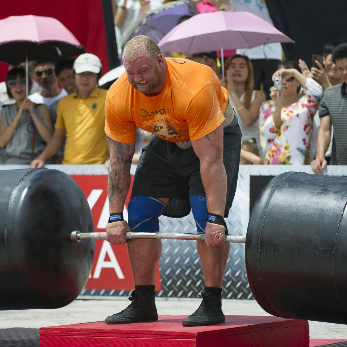 'The Mountain' Hafthor Bjornsson Crowned 2018 World's Strongest Man | Bleacher Report | Latest News, Videos and Highlights
