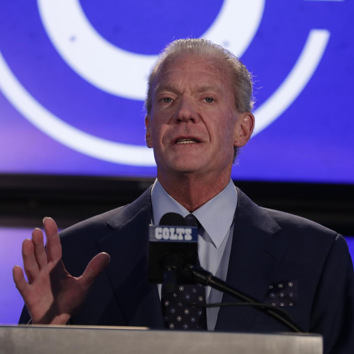 Colts Owner Jim Irsay Pays $2.4M at Auction for Alcoholics Anonymous Document | Bleacher Report | Latest News, Videos and Highlights