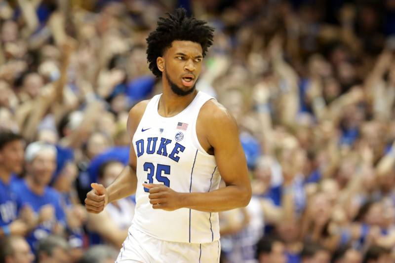 c5c2719e9005 Marvin Bagley III Drafted by Kings at No. 2