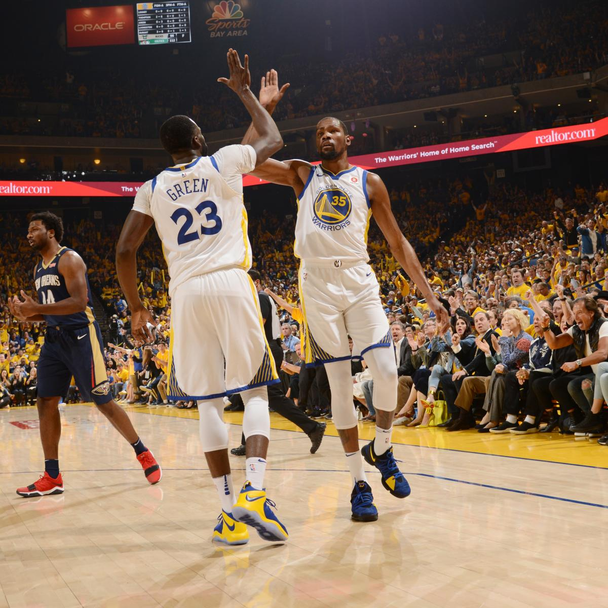 Draymond Green Sent Kevin Durant 4 AM Text Challenging Him After Game 3 Loss | Bleacher Report | Latest News, Videos and Highlights