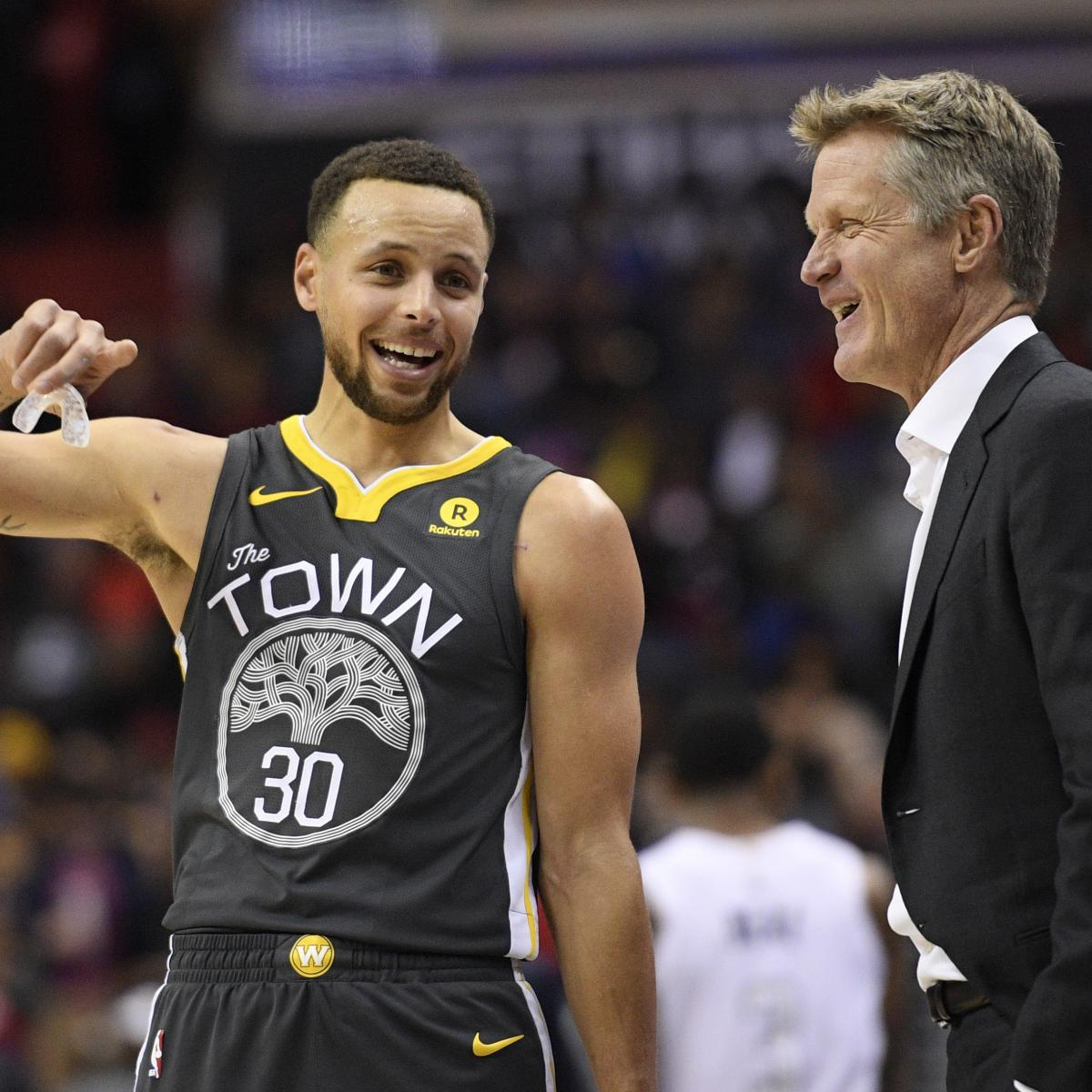 Golden State Warriors Record Without Steph Curry: Steve Kerr Says Stephen Curry 'Turned A Corner' After Game