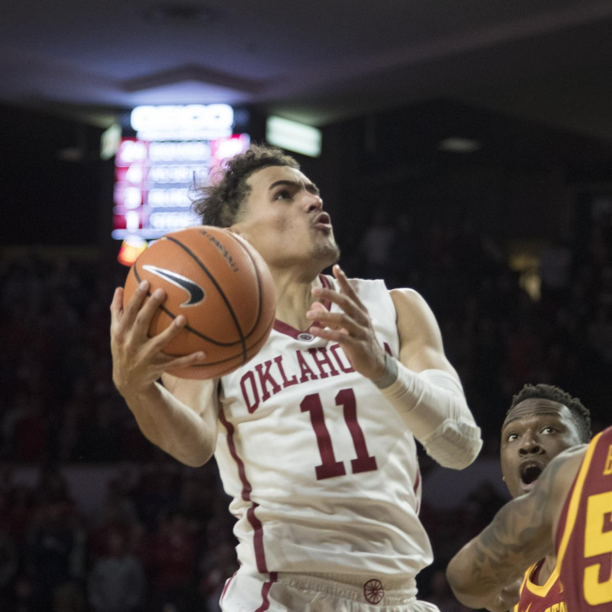 Projecting Where Trae Young Will Be Selected After 2018