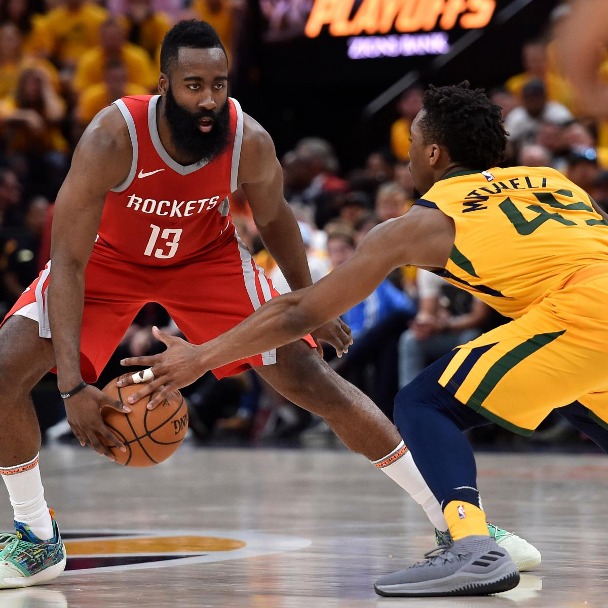 Houston Rockets Game Log: James Harden Says Jazz Are 'Unbelievable' After Rockets