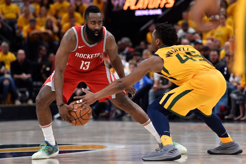 8ff34295a663 James Harden Says Jazz Are  Unbelievable  After Rockets  Game 5 Win ...