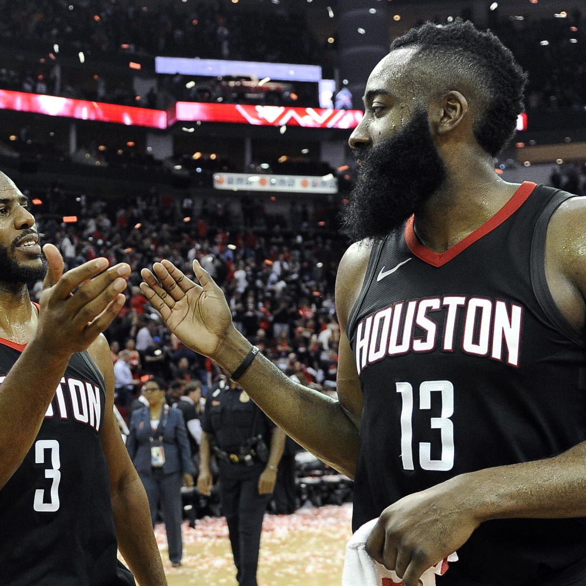 James Harden Points Last Night: James Harden Says Chris Paul Took Over, Put Rockets On His