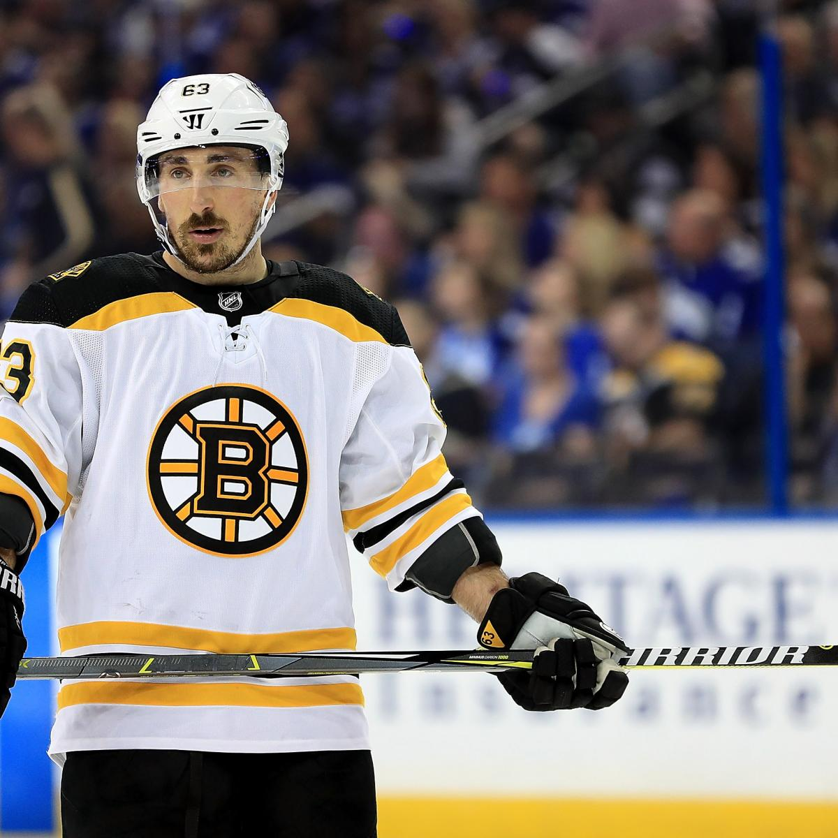 Brad Marchand On Licking Opponents: 'I've Got To Cut That