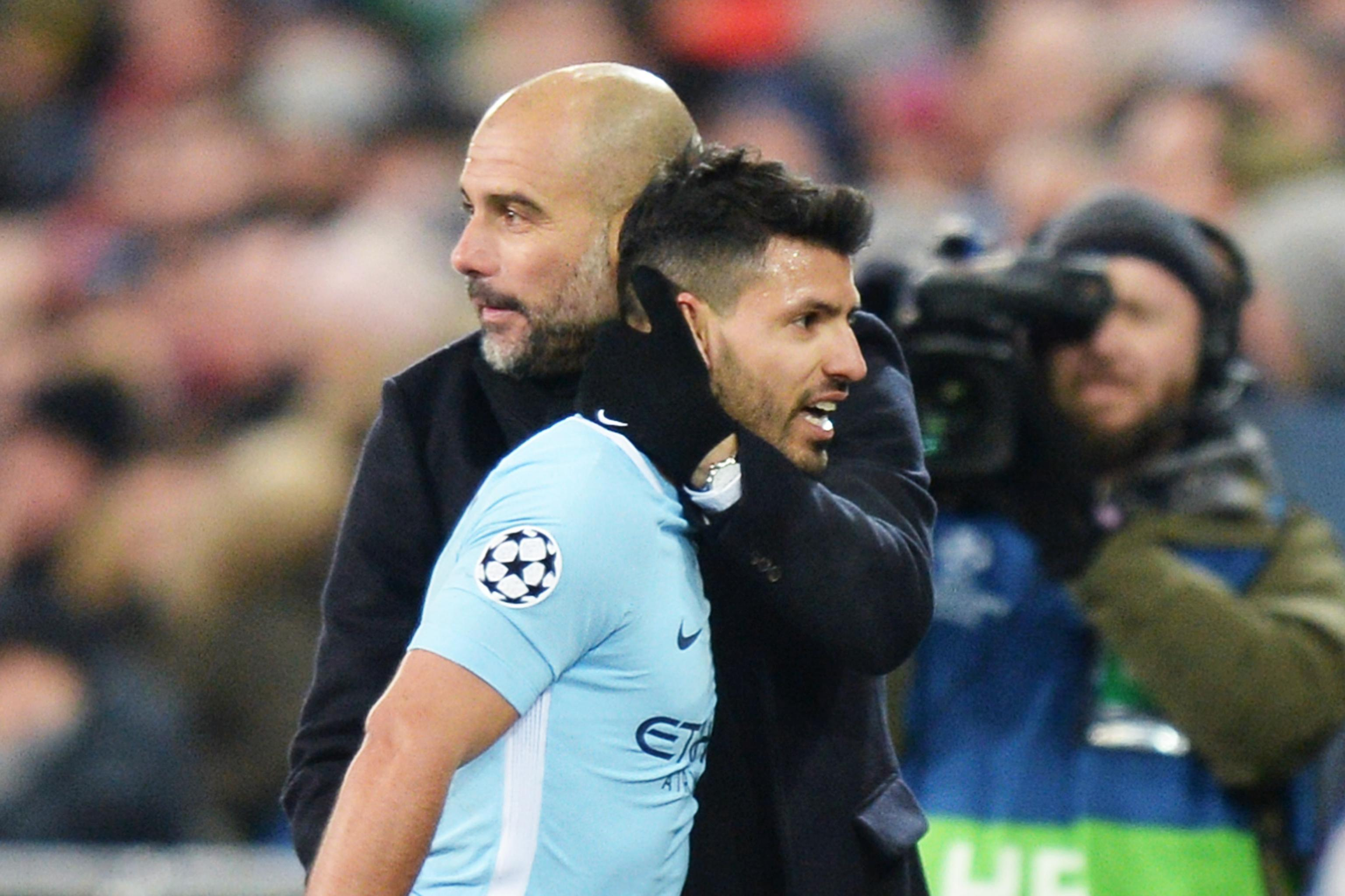 online store f4c5c fa002 Pep Guardiola Says Sergio Aguero Joining Atletico Madrid ...