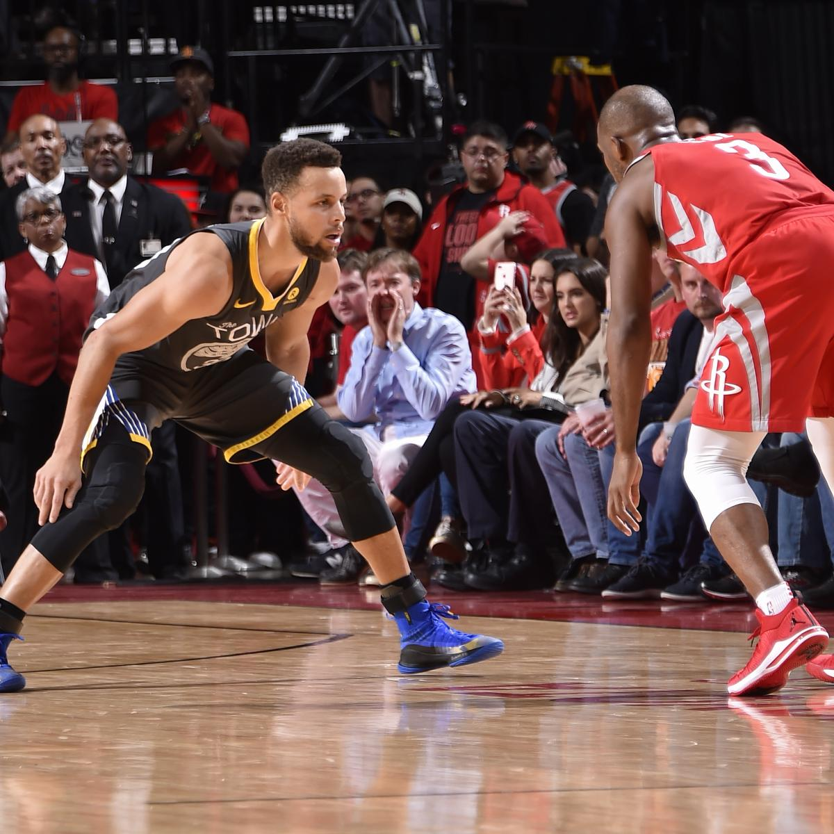 James Harden And Stephen Curry: Stephen Curry Hopes Rockets Make Him Switch, Guard James