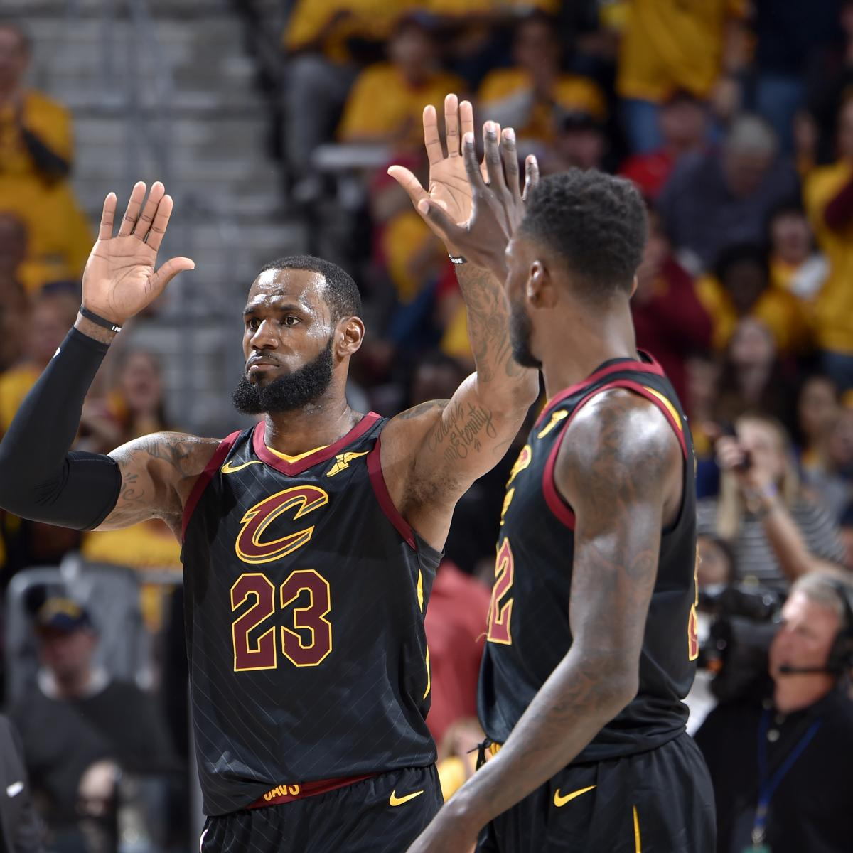NBA Playoffs 2018: TV Schedule, Predictions For Conference