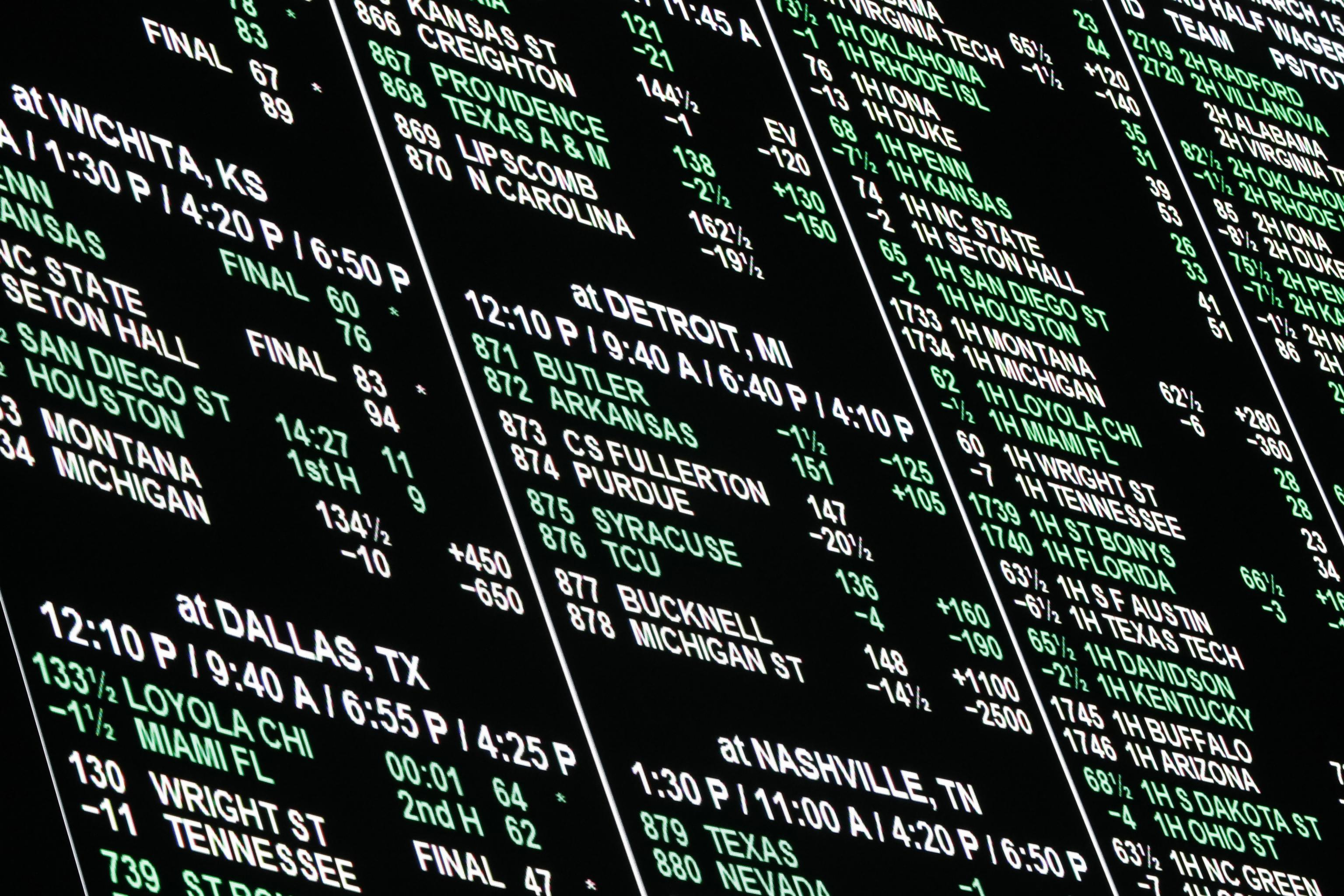 Bookie betting rules of texas jets betting line