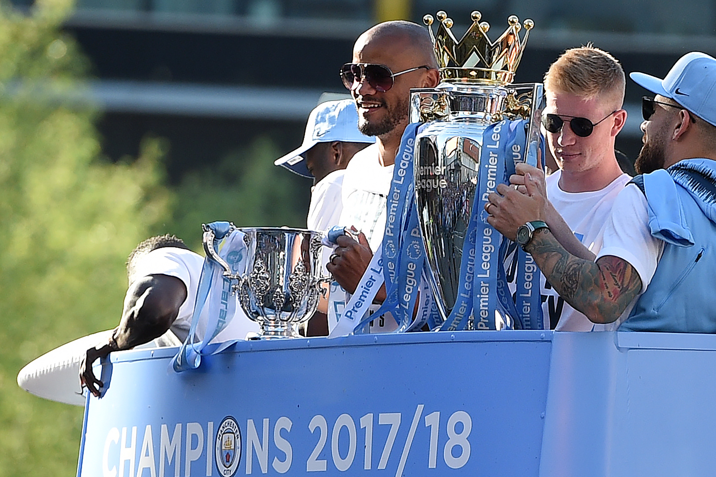 Manchester City Parade 2018 Twitter Reaction Photos Videos Gifs And More Bleacher Report Latest News Videos And Highlights