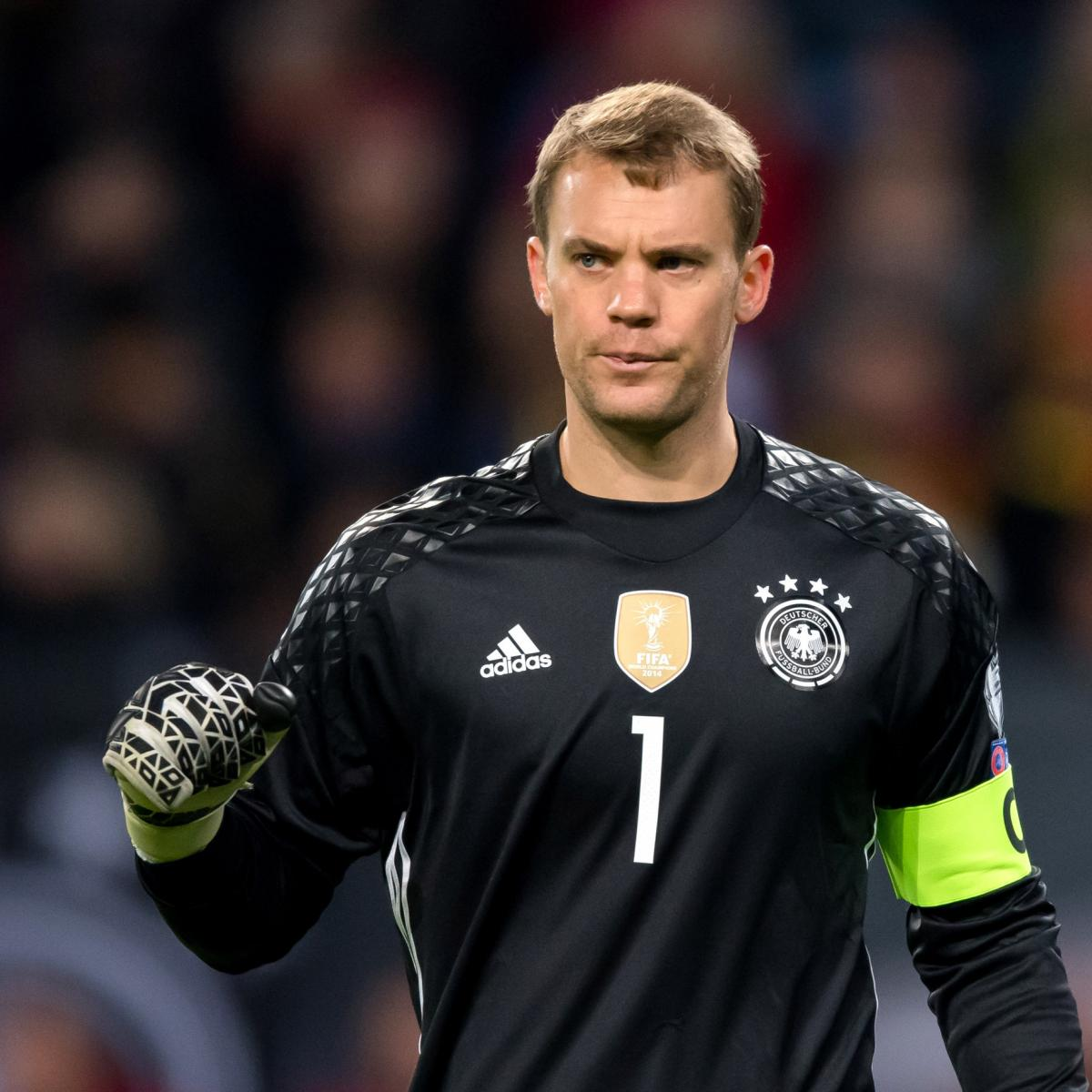 Manuel Neuer in Germany's 2018 World Cup Provisional Squad ...