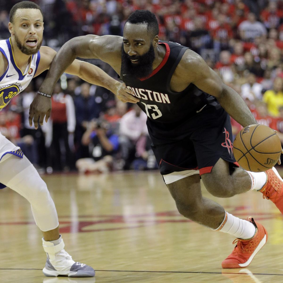 James Harden And Stephen Curry: Stephen Curry On James Harden Matchup: There Will Be 'A
