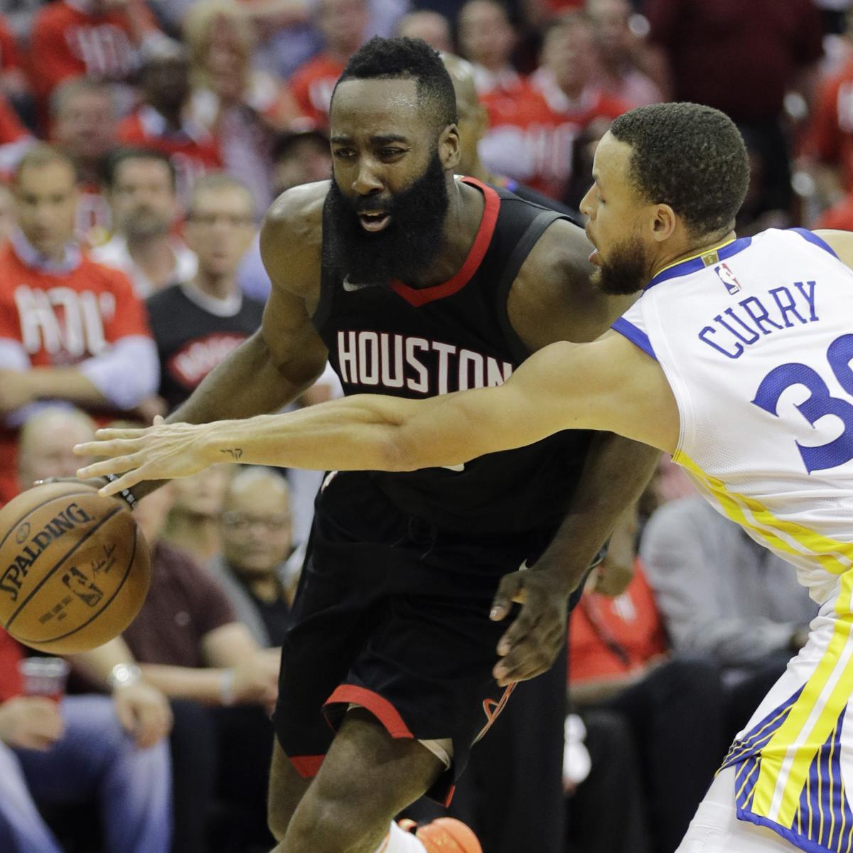 Warriors Vs. Rockets Game 1 Breaks TNT's Western