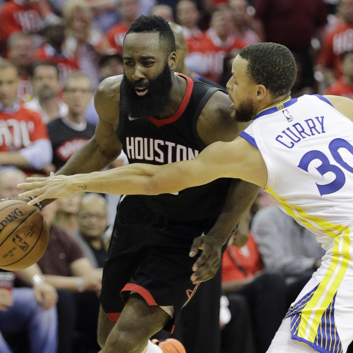 Golden State Warriors Vs Houston Rockets Live Stream 2018: Golden State Warriors Vs. Houston Rockets Game 2 Odds, NBA
