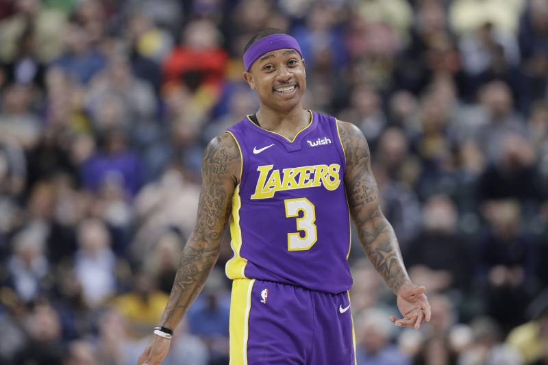 c2a81fed8c6f Lakers News  Isaiah Thomas Tweets He s  Finally Pain Free  After Hip Surgery