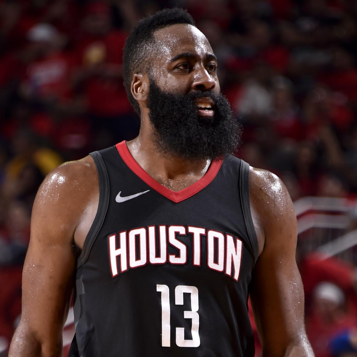 James Harden Wins 2018 NBA MVP Award over LeBron James ...