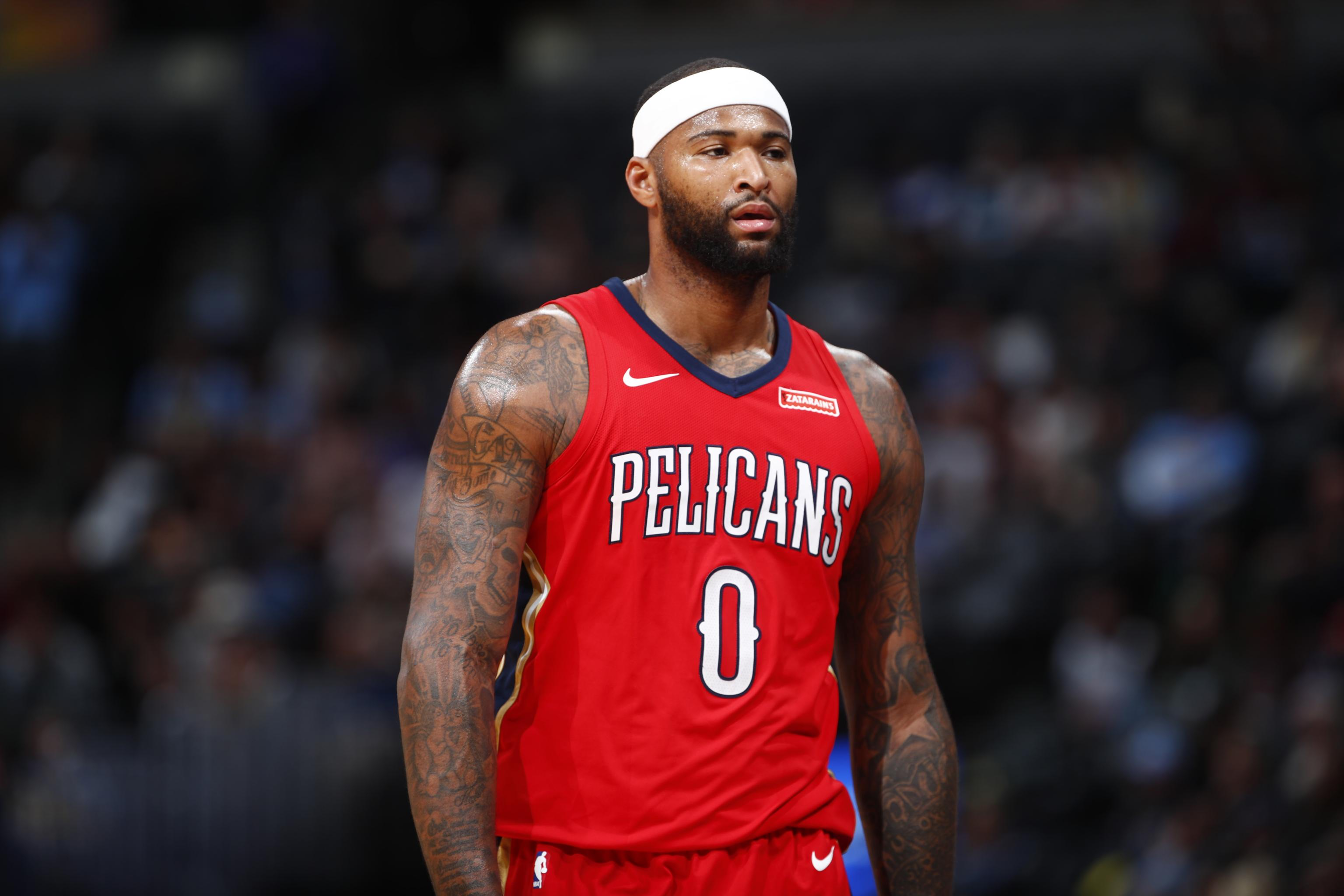 uk availability 06f08 dd61b DeMarcus Cousins Open to Re-Signing with Pelicans, Wants to ...