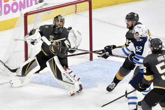 cb67d55d495 Marc-Andre Fleury has helped the Golden Knights build an edge in the  Western Conference