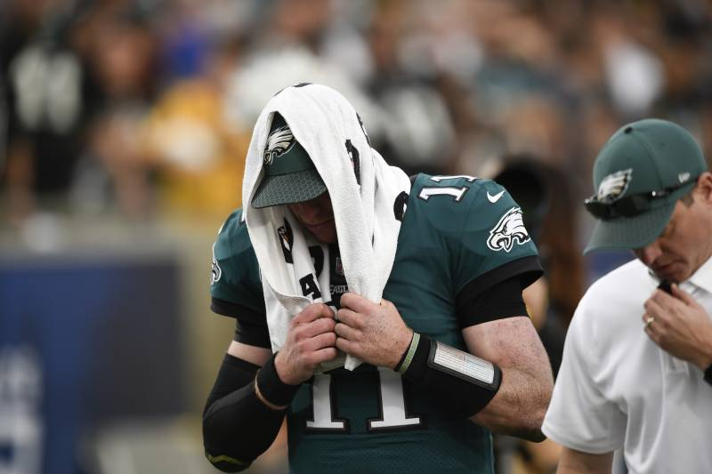 Eagles Carson Wentz Reportedly Out For Week 15 Vs Rams With Back Injury Bleacher Report Latest News Videos And Highlights