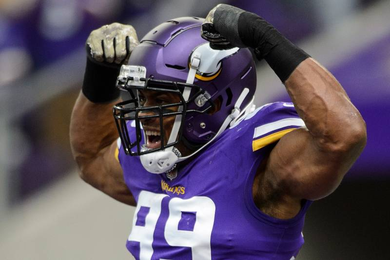 reputable site ce83a 3a483 Danielle Hunter, Vikings Reportedly Agree to Contract ...