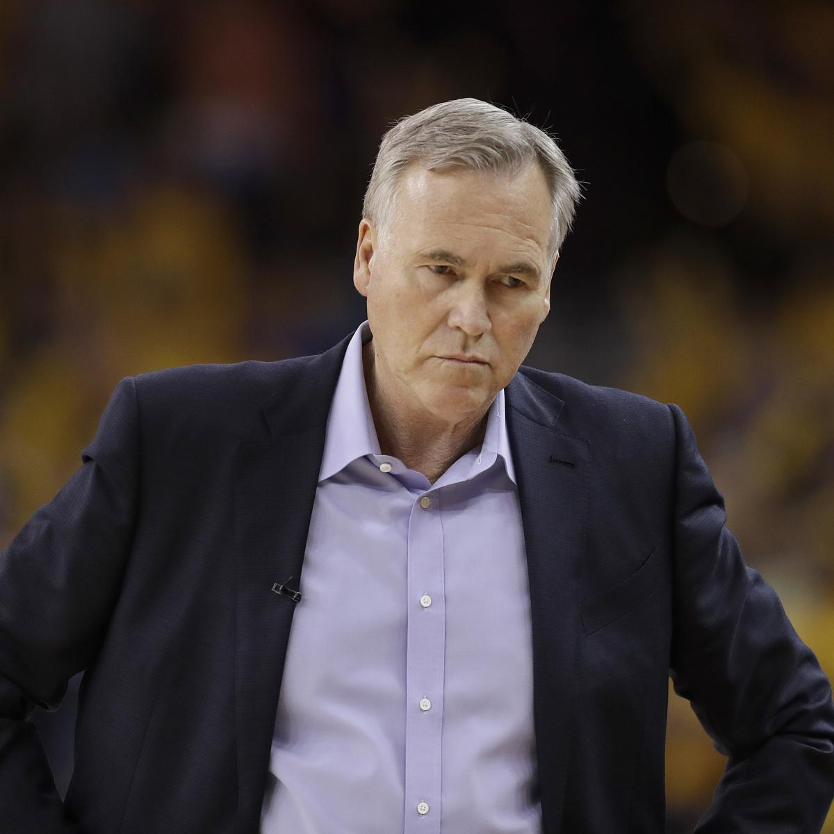 Rockets Vs Warriors Tickets Game 3: Mike D'Antoni Says Rockets 'Played Soft' In Game 3 Blowout