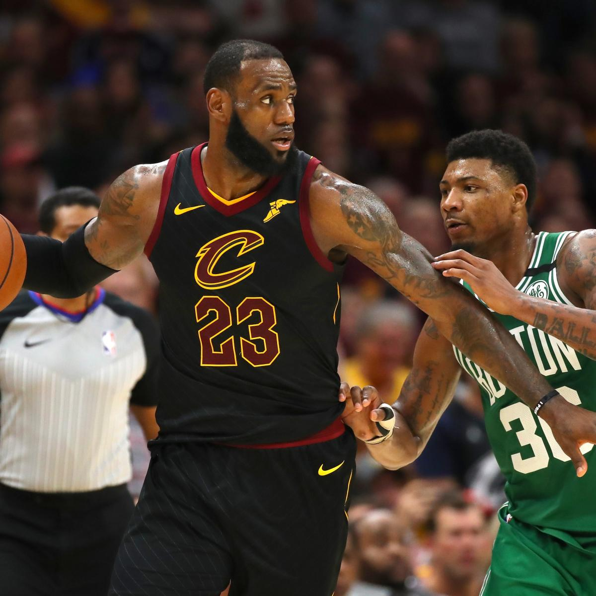 NBA Playoff Schedule 2018: Remaining Dates and Breakdown for ...