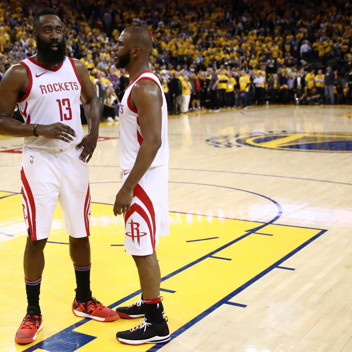 Houston Rockets Defensive Coach: Warriors' Margin For Error Is Zero Against Chris Paul And
