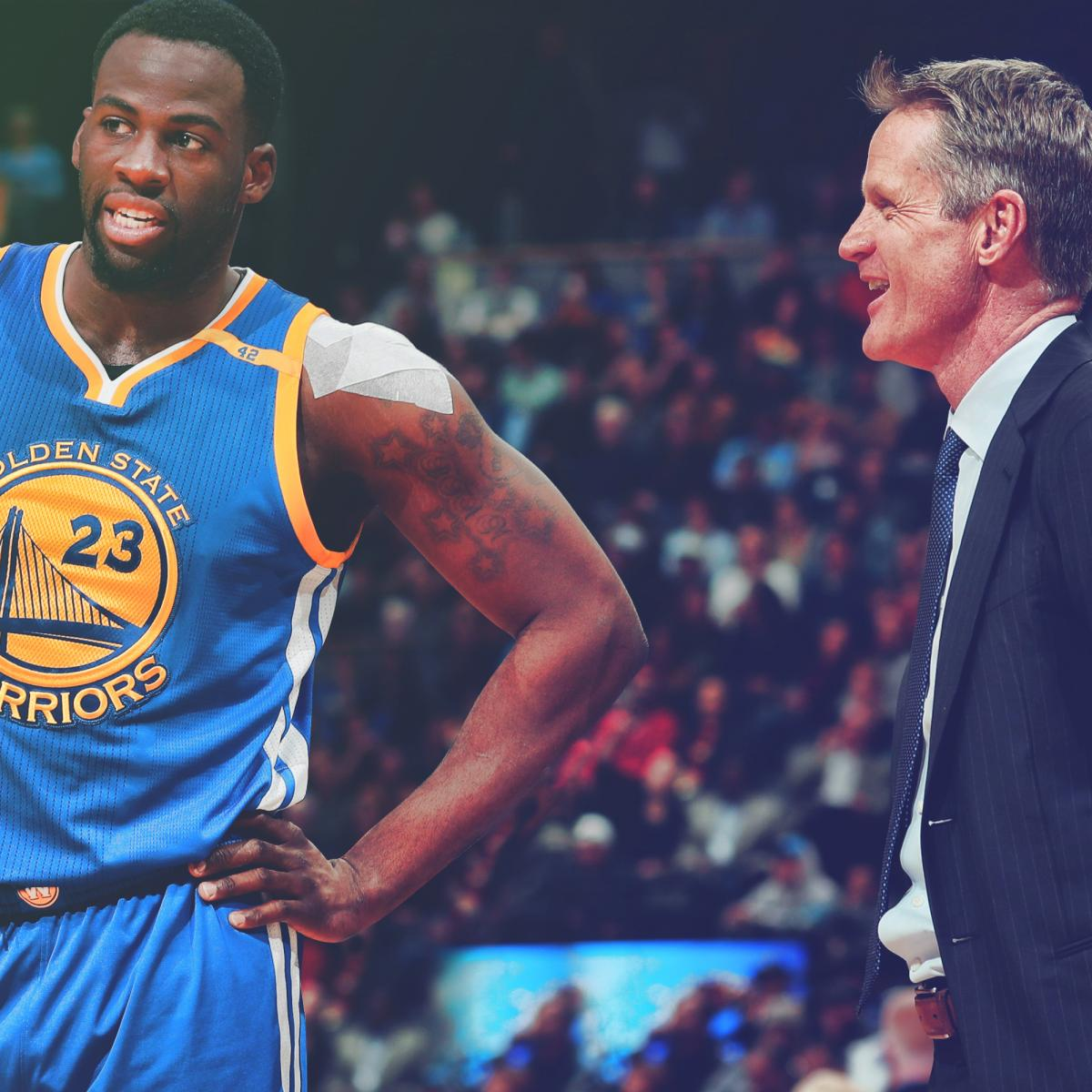 Warriors Come Out To Play Bleacher Report: Kerr And Draymond's Relationship Nearly Destroyed Warriors