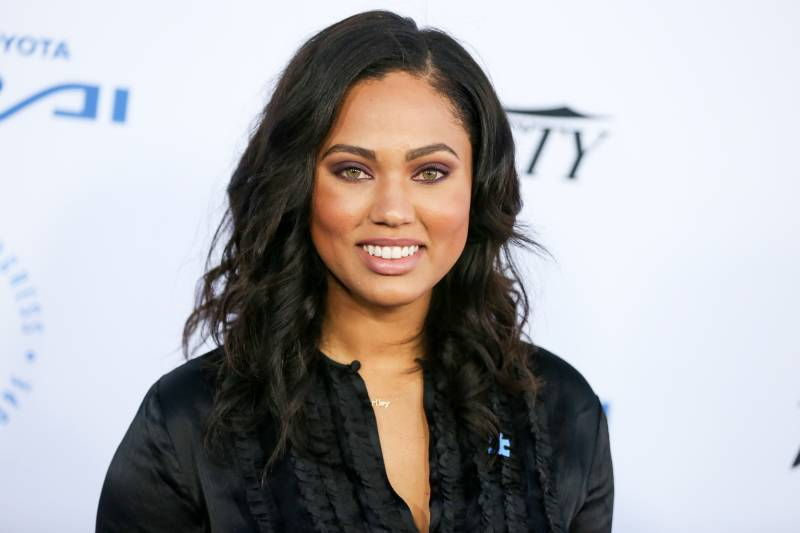 Ayesha Curry Responds After Rockets Fan Allegedly Bumps Into