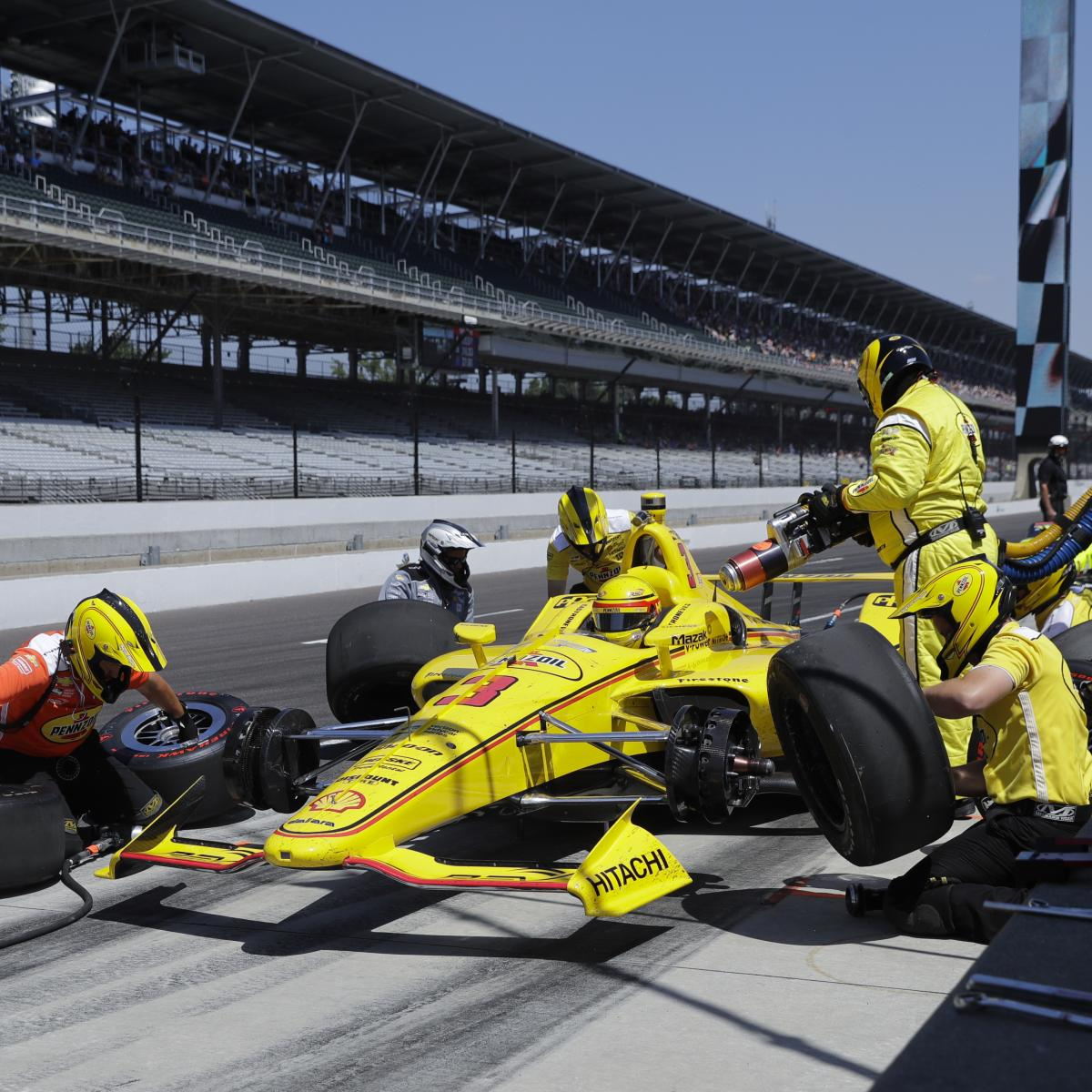 Indy 500 Lineup 2018: Starting Grid And Viewing Info For
