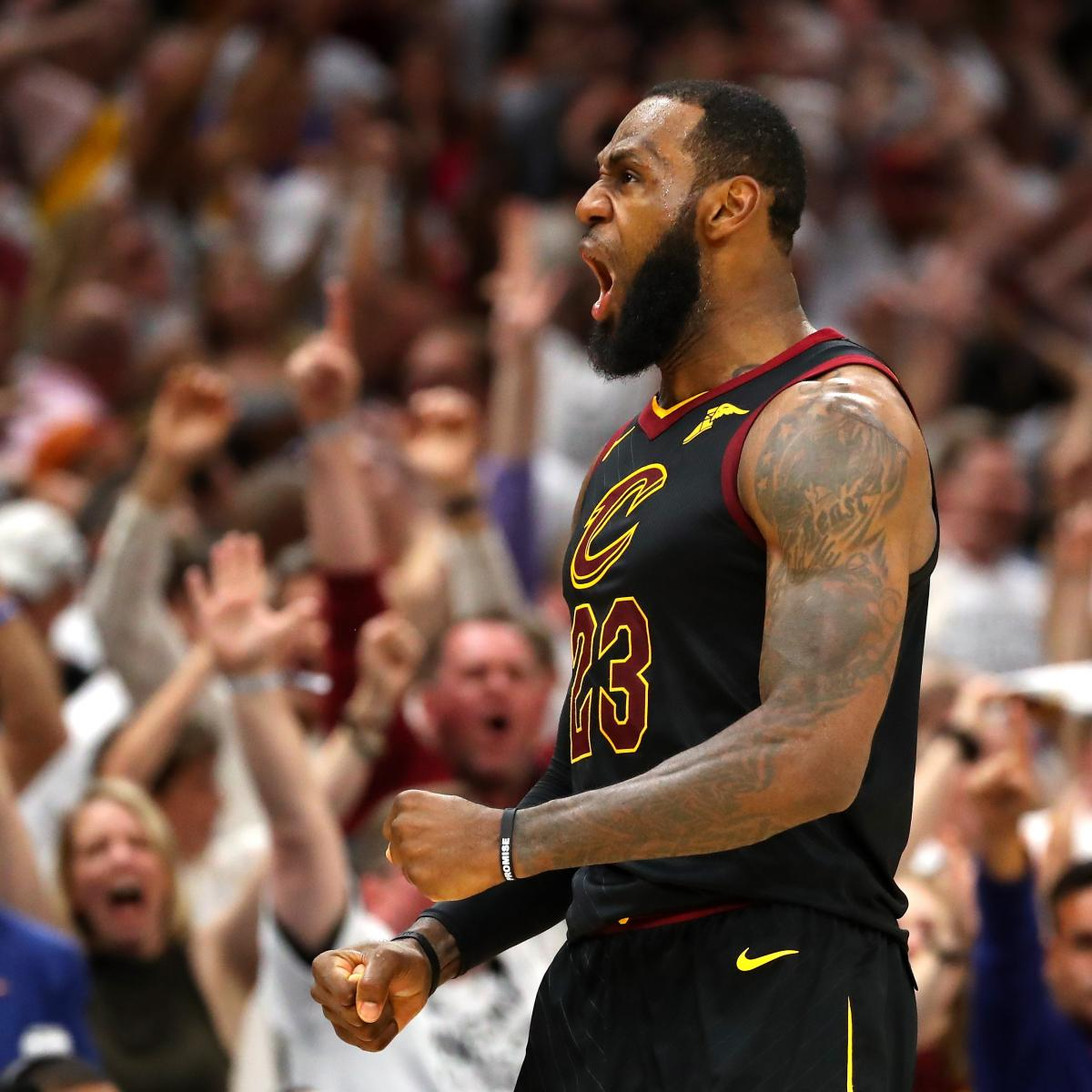 NBA Finals 2018: Complete TV Schedule For Championship