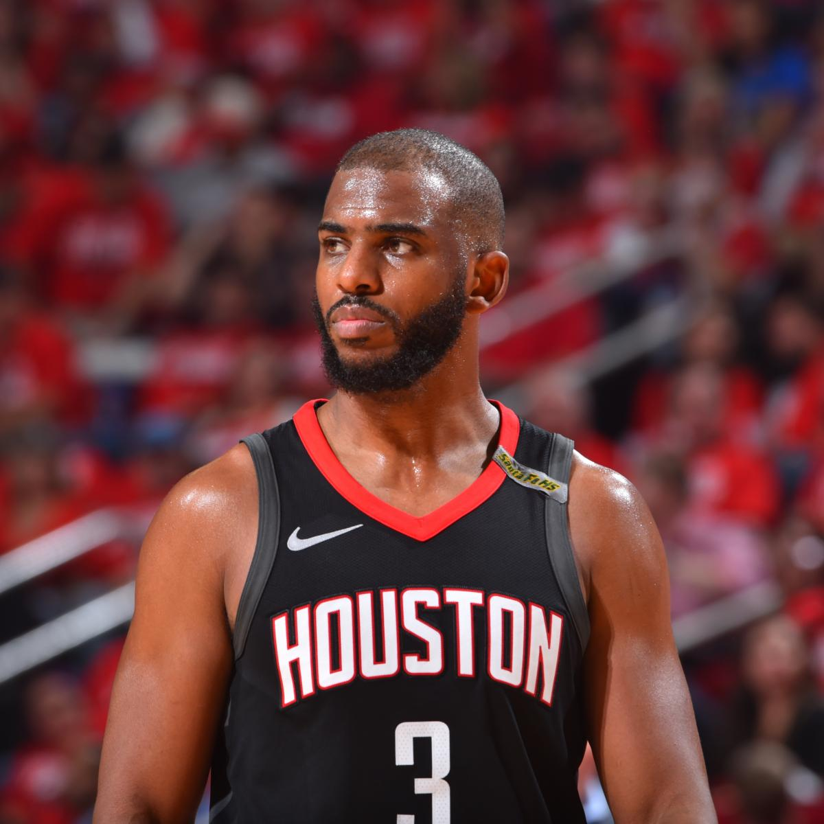 Rockets Vs Warriors Game 7 Where: Chris Paul Won't Play In Game 7 Vs. Warriors After