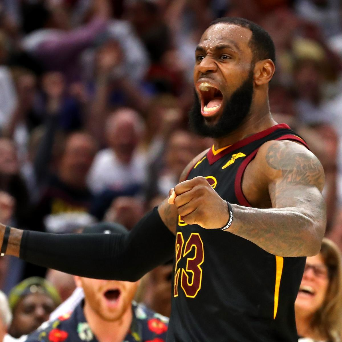 LeBron James' Game 7 Over/Under Of 38 Points Believed To