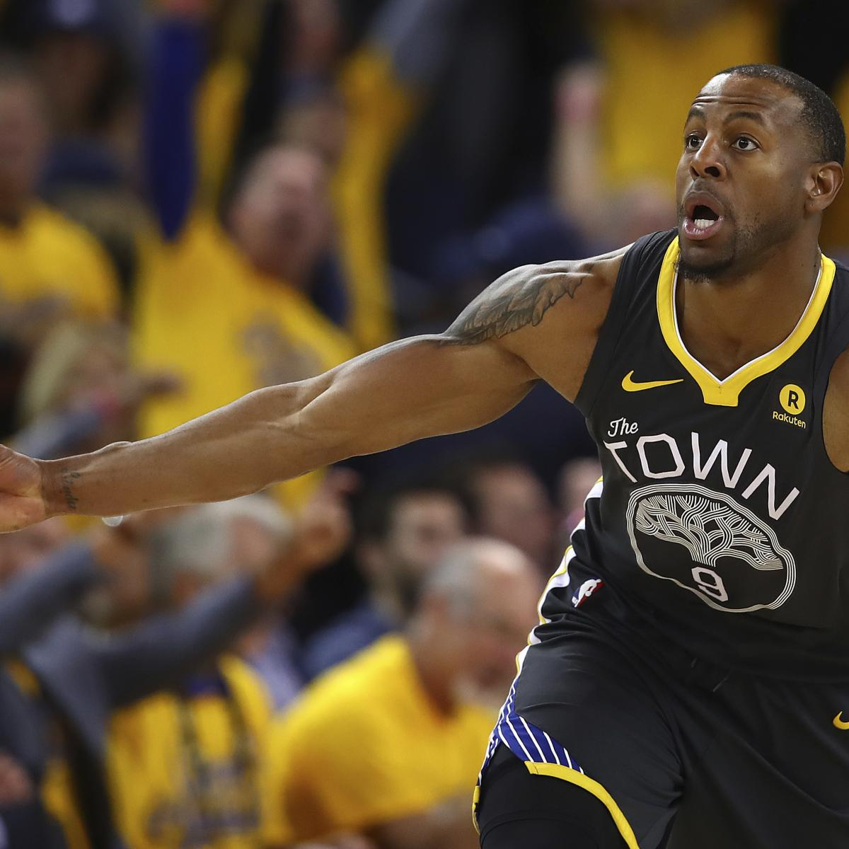 Warriors Vs Rockets Lineup: Andre Iguodala, Kevon Looney Listed As Questionable For
