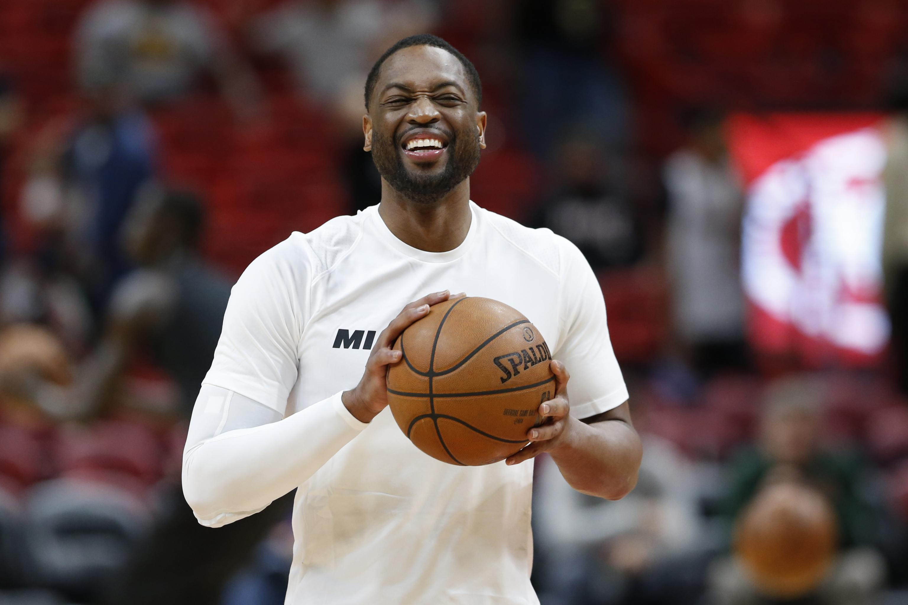 Dwyane Wade Shares Instagram Video Hanging out with Tom